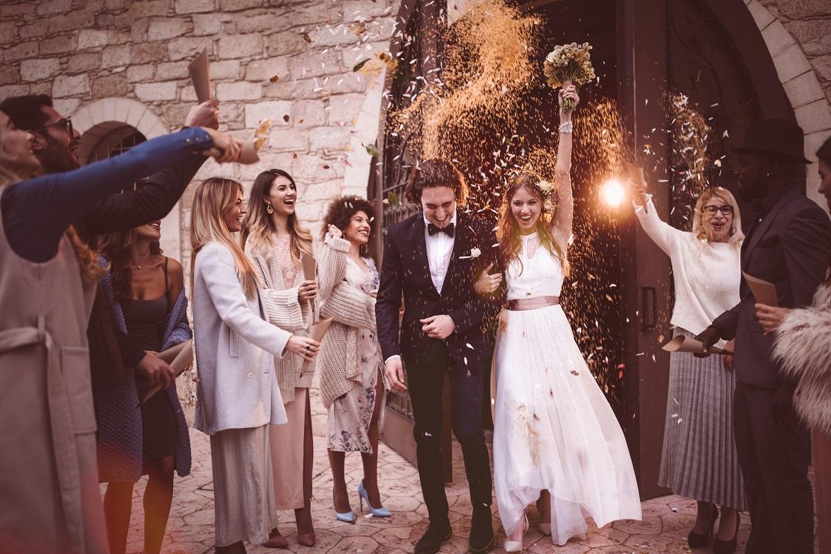 goście na wesele